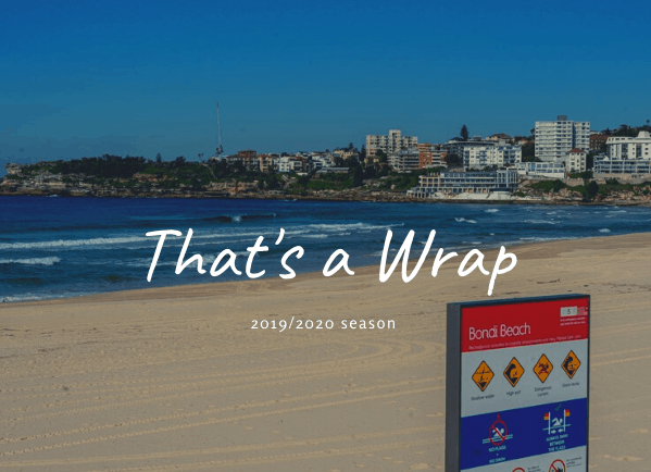 2019-2020 Bondi Surf Patrol Wrap Up