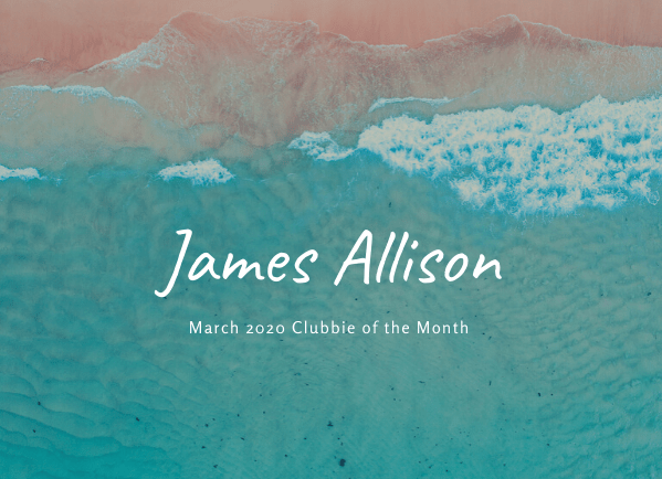 March 2020 Clubbie of the Month