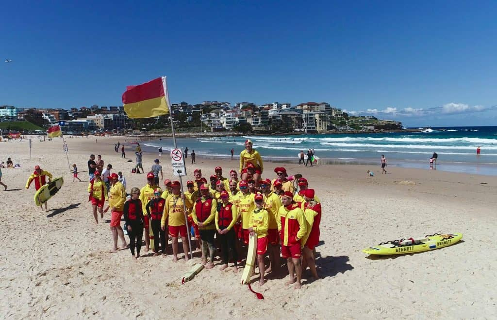 Bondi Surf Club on Bondi Beach